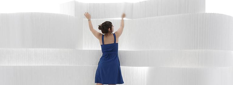 Textile Softblock - Modern Partition Design