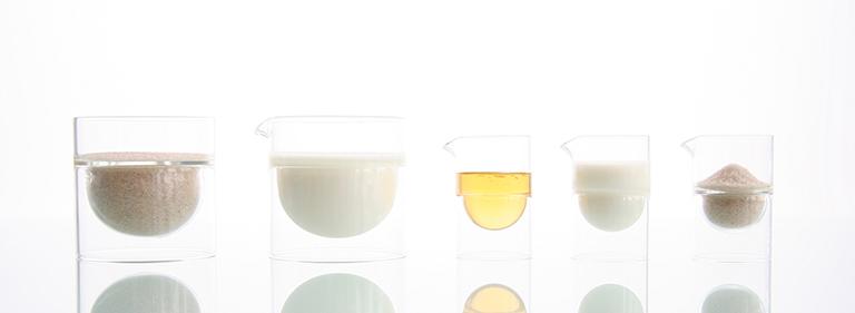 float glassware - Sugar - Cream Set