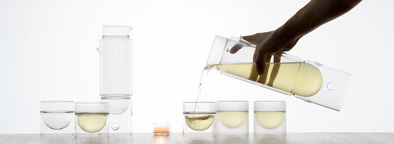 float tea lantern and tea cup - Floating Glassware - Modern Designs - molo