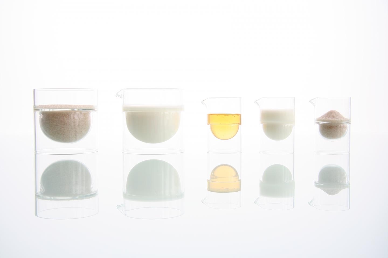 float sugar and cream set