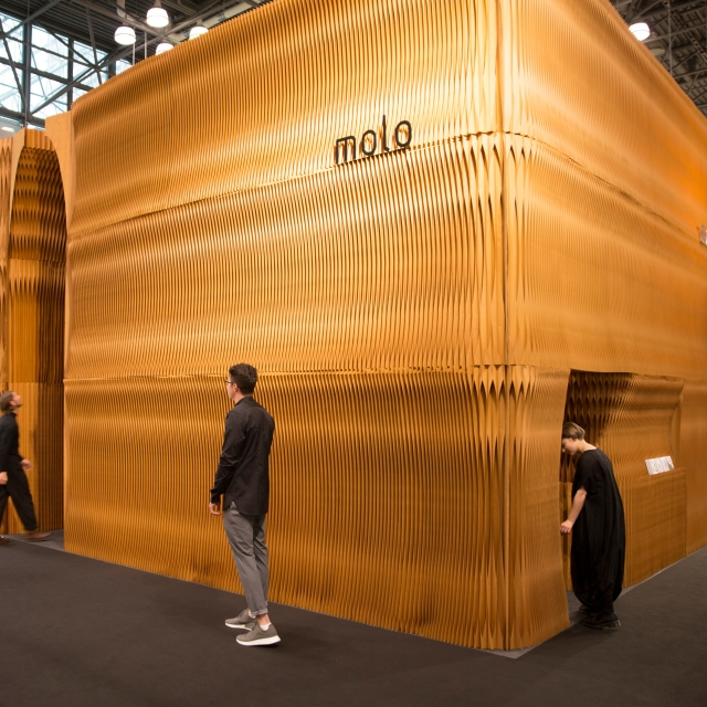 molo trade show installation at ICFF 2017 · New York