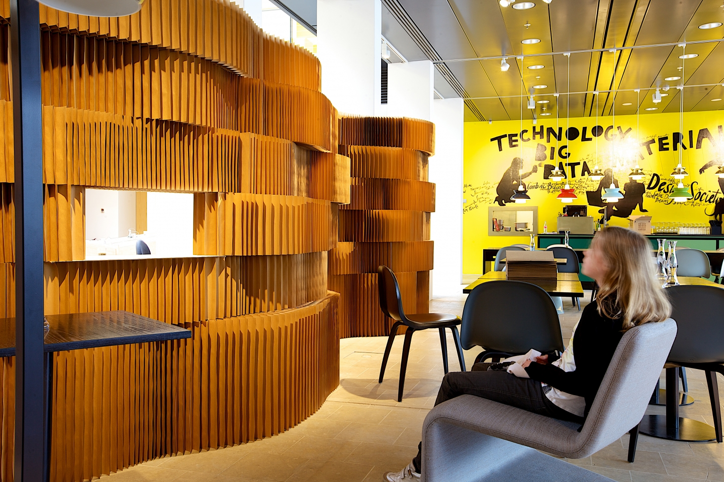 molo brown paper softblocks at Danish Design Centre in Copenhagen