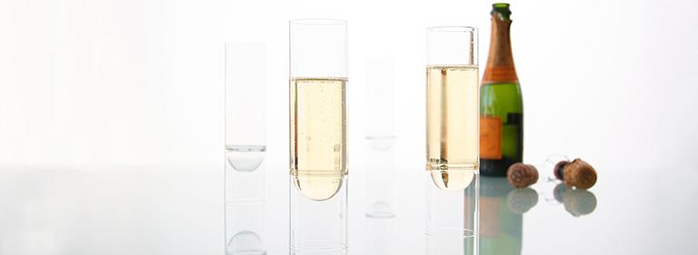 float glassware - barware - champagne flutes