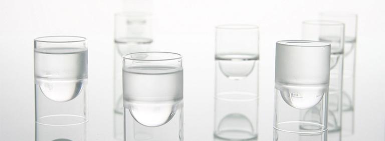 float glassware - barware - liqueur glasses.
