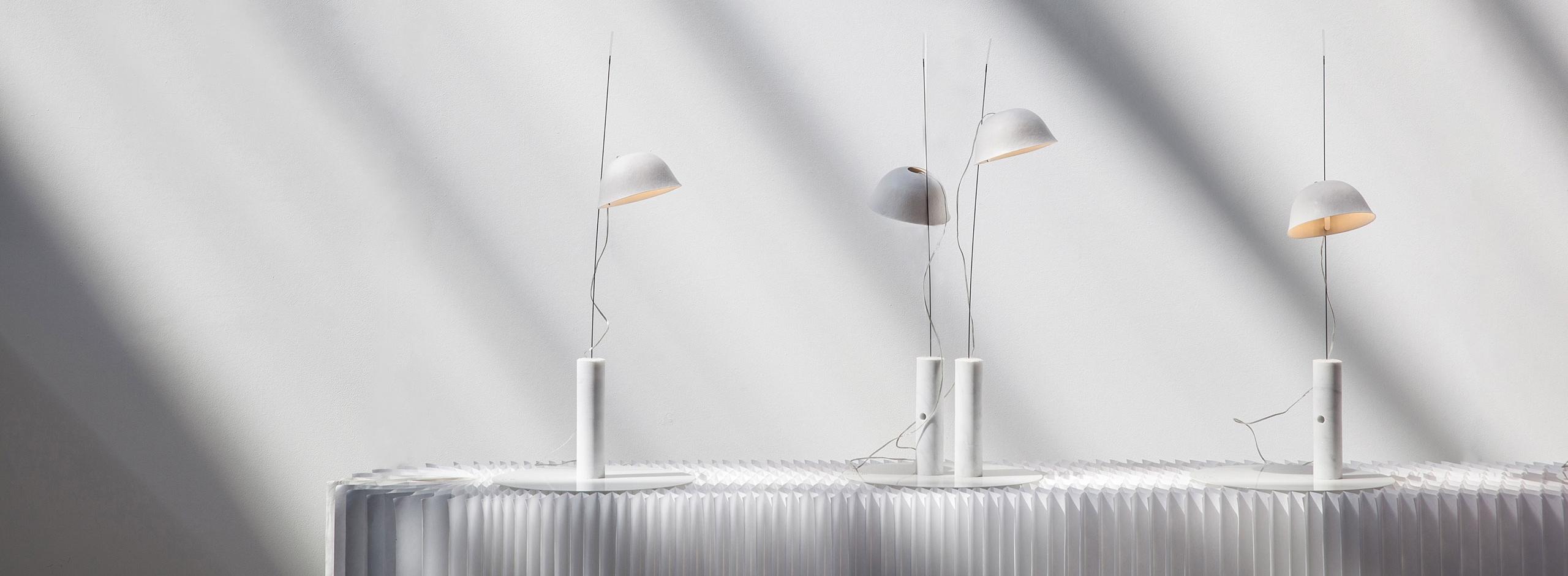 cappello LED Modern Paper Lamp