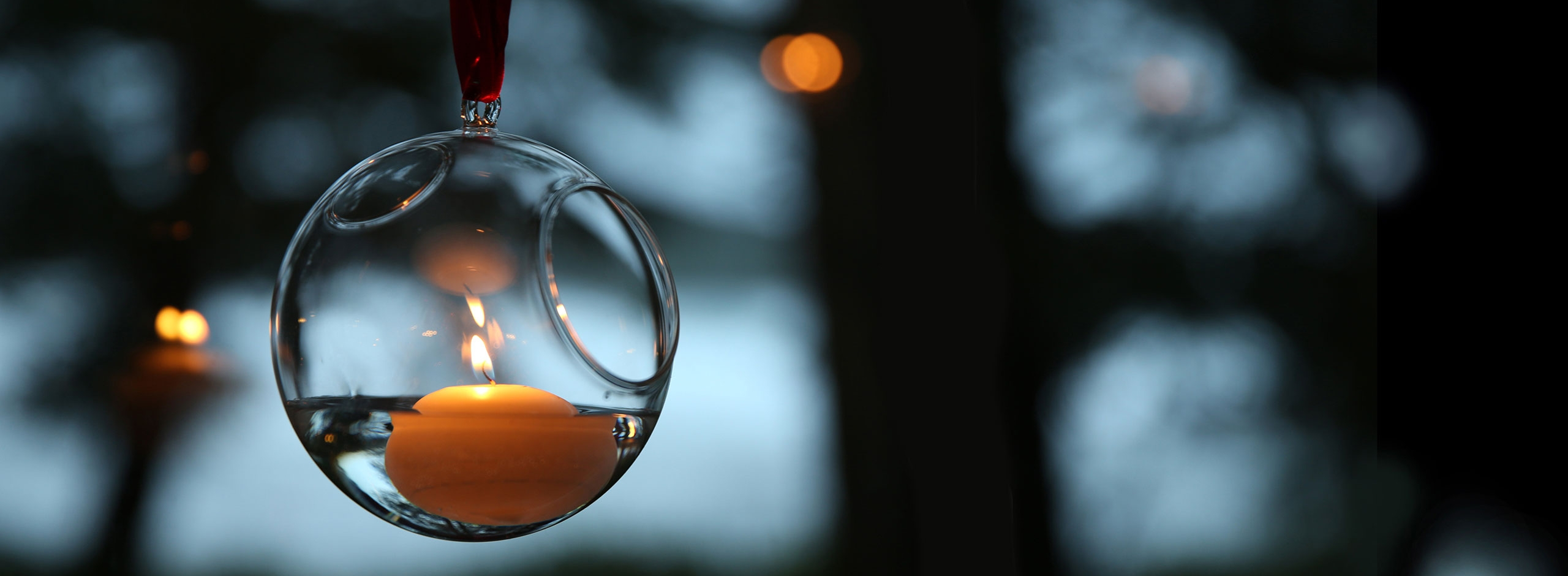 float bubble - floating candle glass holders
