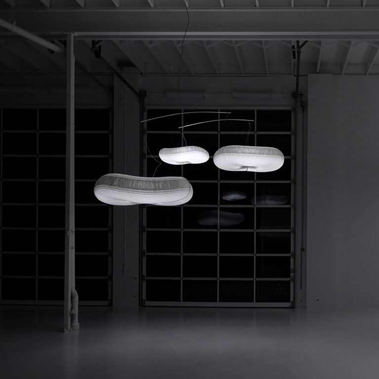 Cloud Lamp - Cloud softlight Mobile - Suspended Honeycomb - MOLO