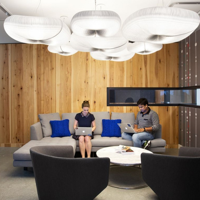 molo cloud pendants at Dun and Bradstreet Cloud Innovation Center vancouver
