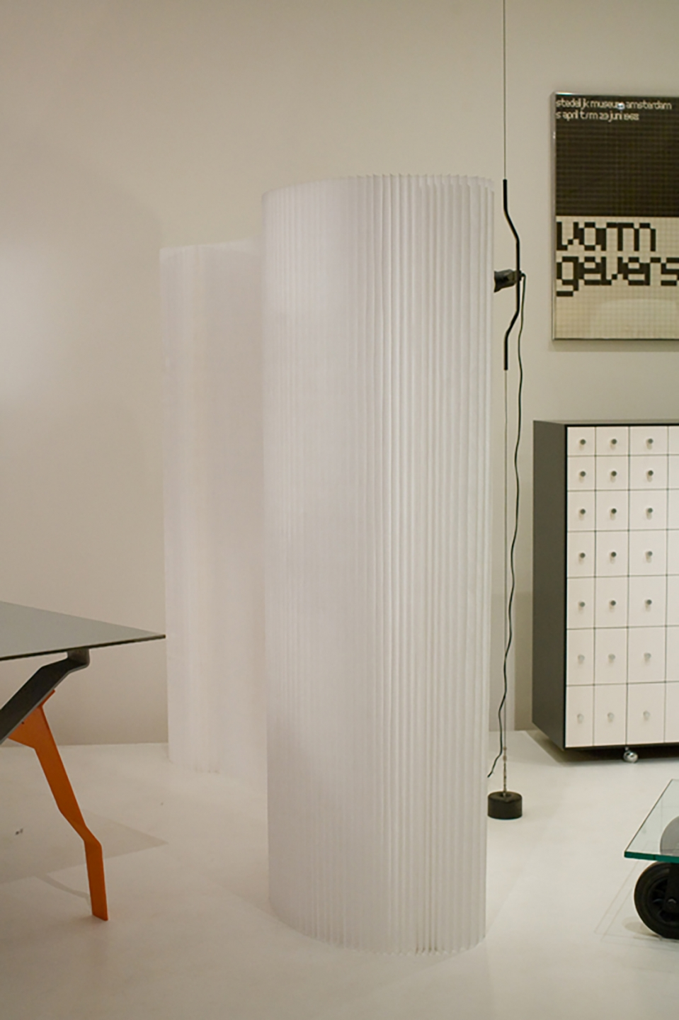 molo white textile softwall for Rough Cut: Design Takes a Sharp Edge at MoMA in New York