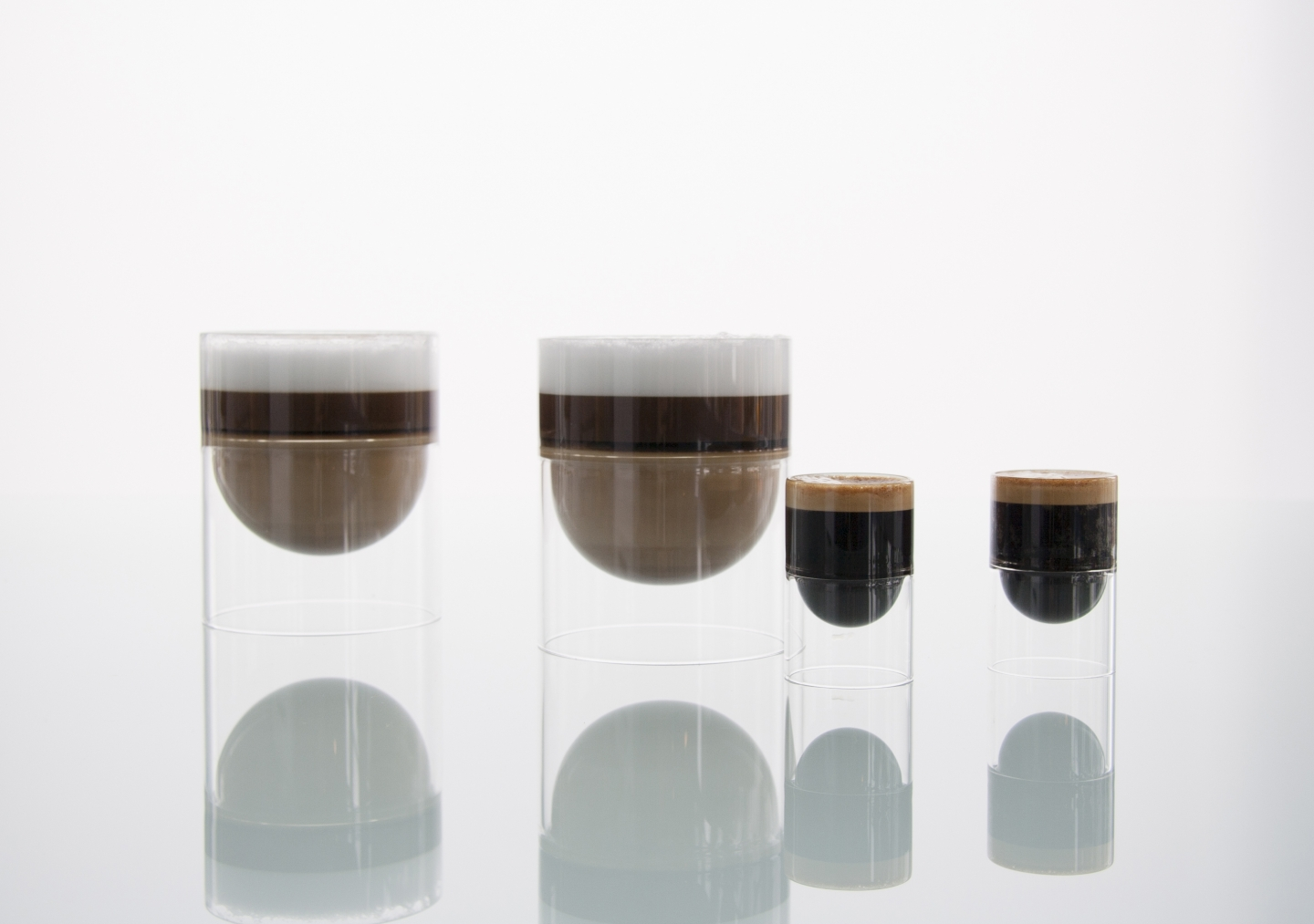 Using float for cappuccinos and espresso.