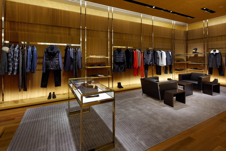 brown paper softblocks at Louis Vuitton in Osaka, Japan