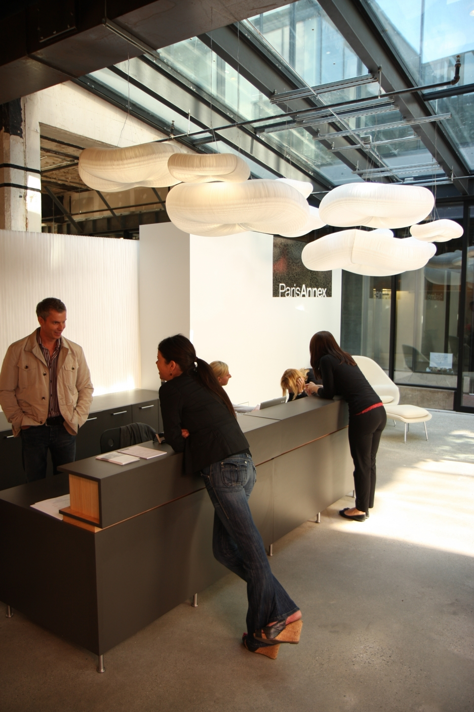 molo cloud light pendants at the Paris Annex in Vancouver, Canada