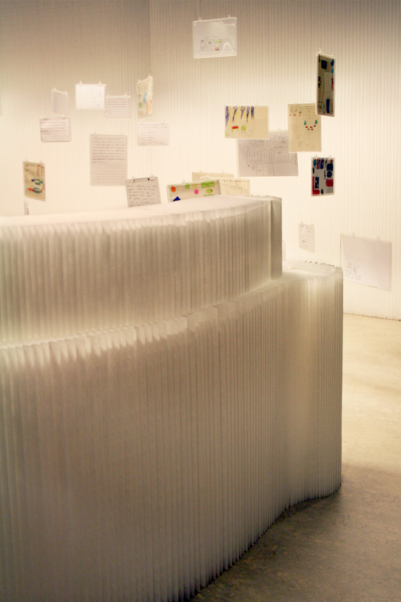 molo white textile softwall + softblock at the Sello Children's Library in Finland