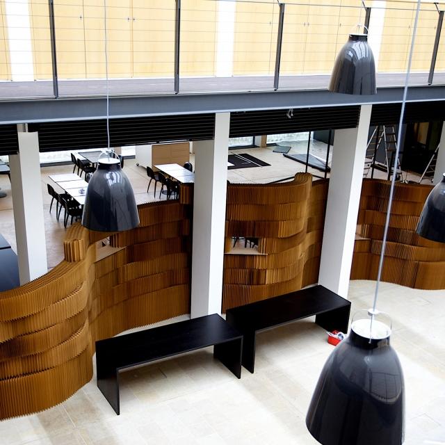 molo brown paper softblocks at Danish Design Centre in Copenhagen
