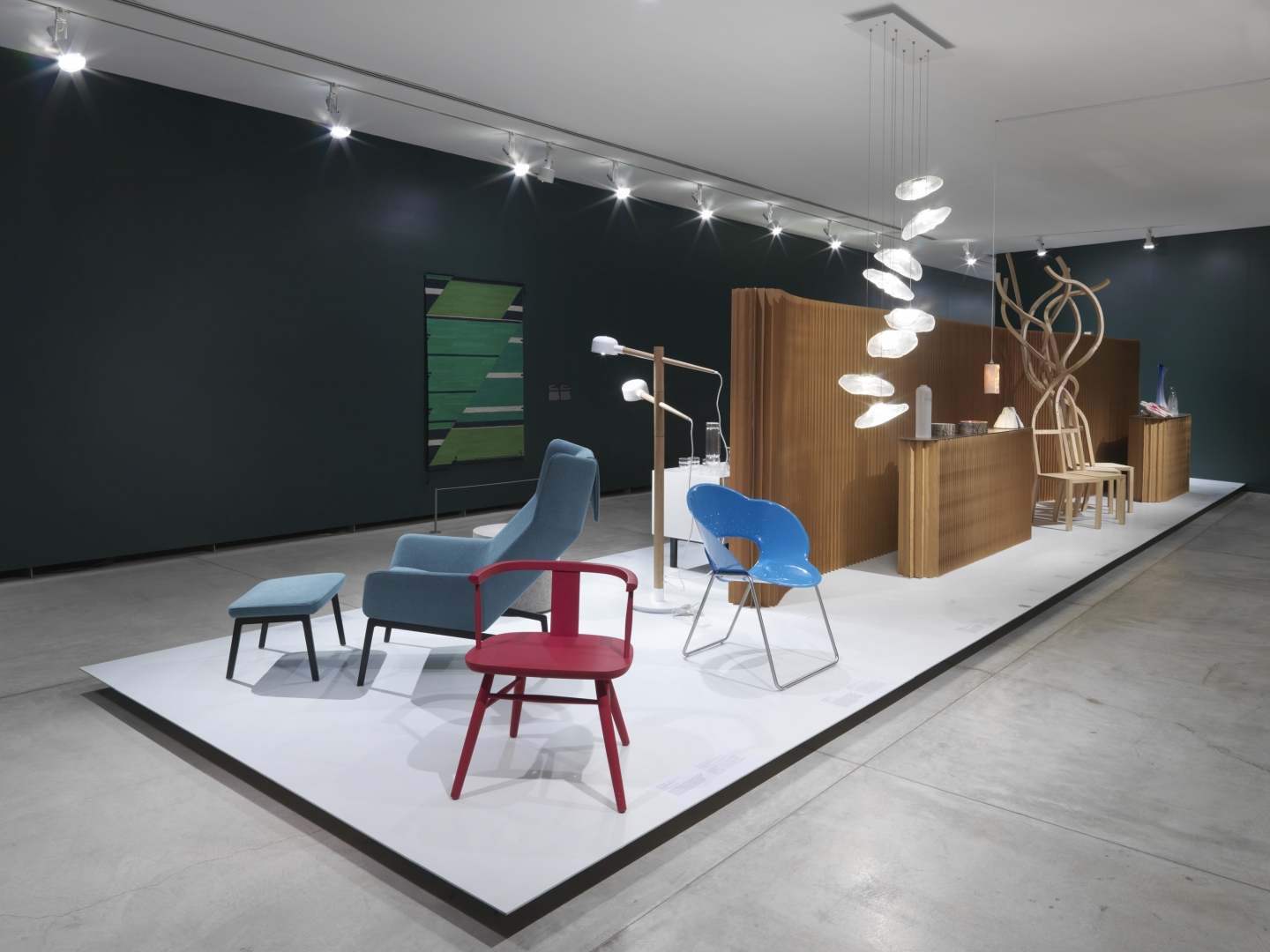 Elements of Canadian design included in True Nordic, including molo's paper softwall.