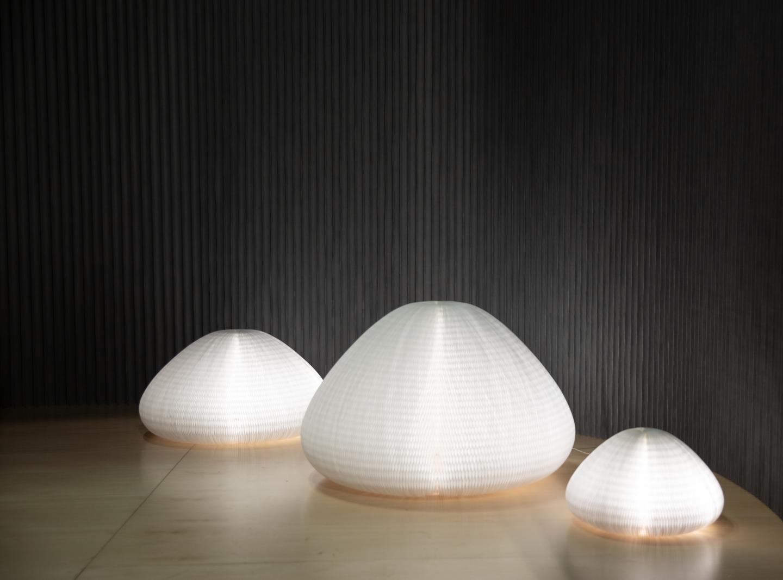 Small, medium and large urchin softlight.