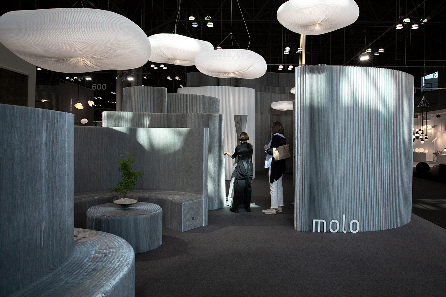 aluminum wall partition launch - molo at ICFF 2019