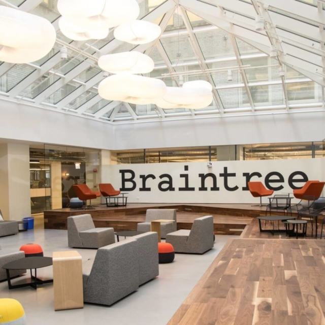 Braintree Office - acoustic pendant lighting by molo