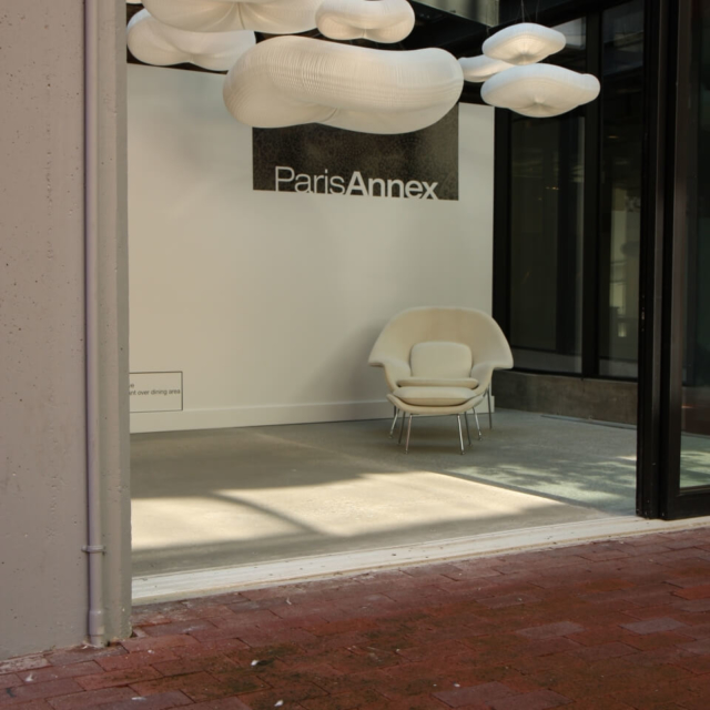 cloud acoustic pendant lighting by molo - paris annex